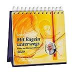 Mit Engeln unterwegs 2020 - Aufstellkalender: Mit 53 Texten von Anselm Grün und Bildern von Eberhard Münch