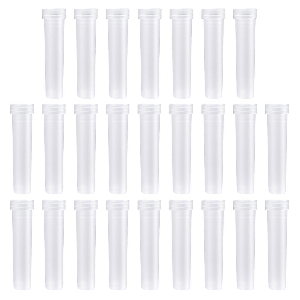 volume 16cc 100 Plastic Vials /& Caps Flower Bottles