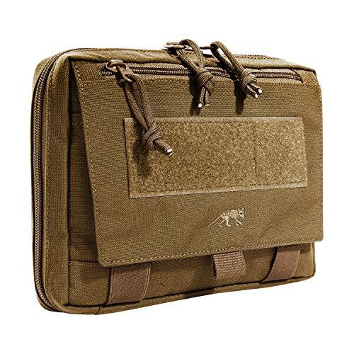 Tasmanian Tiger TT EDC Pouch Molle-kompatible Rucksack Organizer Zusatz-Tasche für Werkzeug und Medic Erste Hilfe Set mit Patch-Fläche (Coyote Brown)