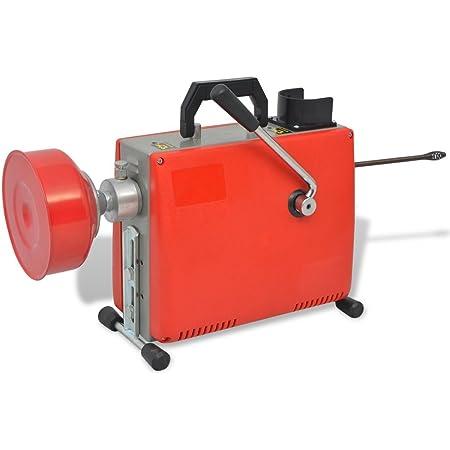 400 U//m Rohrreiniger Abflussreiniger mit Spirale Elektrische Hochdruckreinigungsmaschine Rohre Pipeline Baggermaschine Allround Rohrreinigungsmaschine GQ-100 SUDEG Rohrreinigungsmaschine