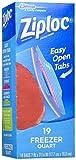 Ziploc Freezer Bags - 1 qt - 19 ct