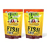 Joe's Gourmet Fish Fry, Seafood Breading Mix, As Seen on Shark Tank, Seasoned Coating Mix for Fish, Chicken, Shrimp & Vegetable, Tasty Air Fryer Breading Batter 12 Oz (Original, 2 Pack)