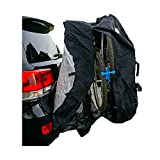 Formosa Covers Bike Cover for Car, Truck, RV, SUV Transport on Rack - Protection While You Roadtrip or Perfect for Home Storage, Reflectors 1, 2, or 3-4 Bikes (Quad (3-4 Bikes))