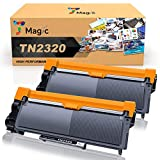7Magic TN2320 Cartuccia Toner Compatibile per Brother TN2320 TN2310 per Brother HL-L2300D L2340DW L2360DN L2365DW DCP-L2500D L2520DW L2540DN MFC-L2700DW L2720DW L2740DW (Nero, 2 Pack)