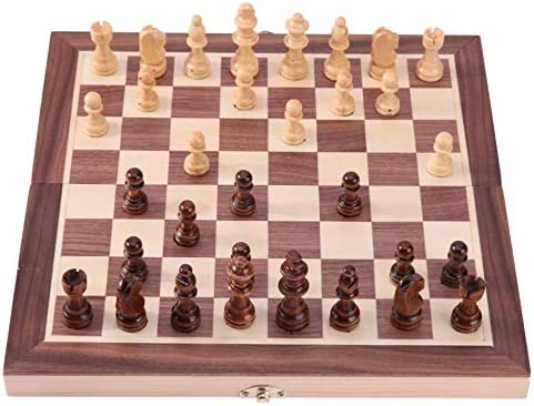 MNBV Chess Max 63% OFF Sale Set Chessboard Solid Wood Magnetic