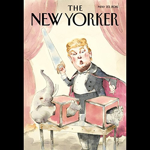 The New Yorker, May 23rd 2016 (Jonathan Franzen, Sarah Larson, Jessi Klein) cover art