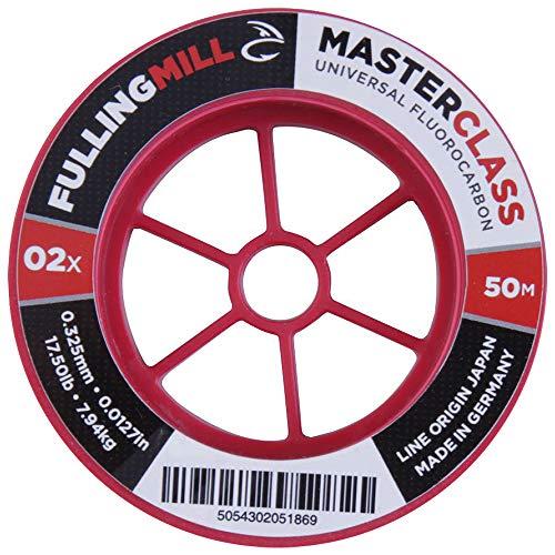 FullingMill Masterclass Fluorocarbon Tippet 50m   4X