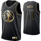 DIMOCHEN Movement Ropa Jerseys de Baloncesto para Hombres, NBA Dallas Mavericks 77# Luka Dončić, cómodo, Camiseta Uniformes Deportivos Tops(Size:M,Color:G1)