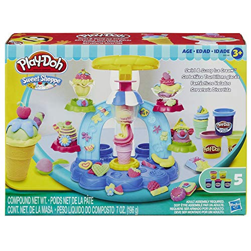 Conjunto Massinha Play-Doh Sorveteria Divertida Hasbro