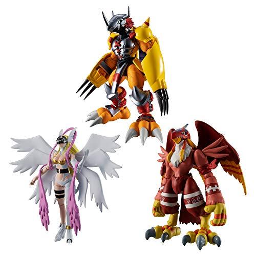 Bandai Shokugan Shodo Digimon Adventure 1 (caja de 6 figuras)