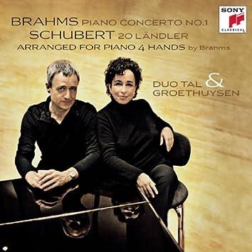 Brahms Klavierkonzert Nr.1, Schubert 20 Ländler