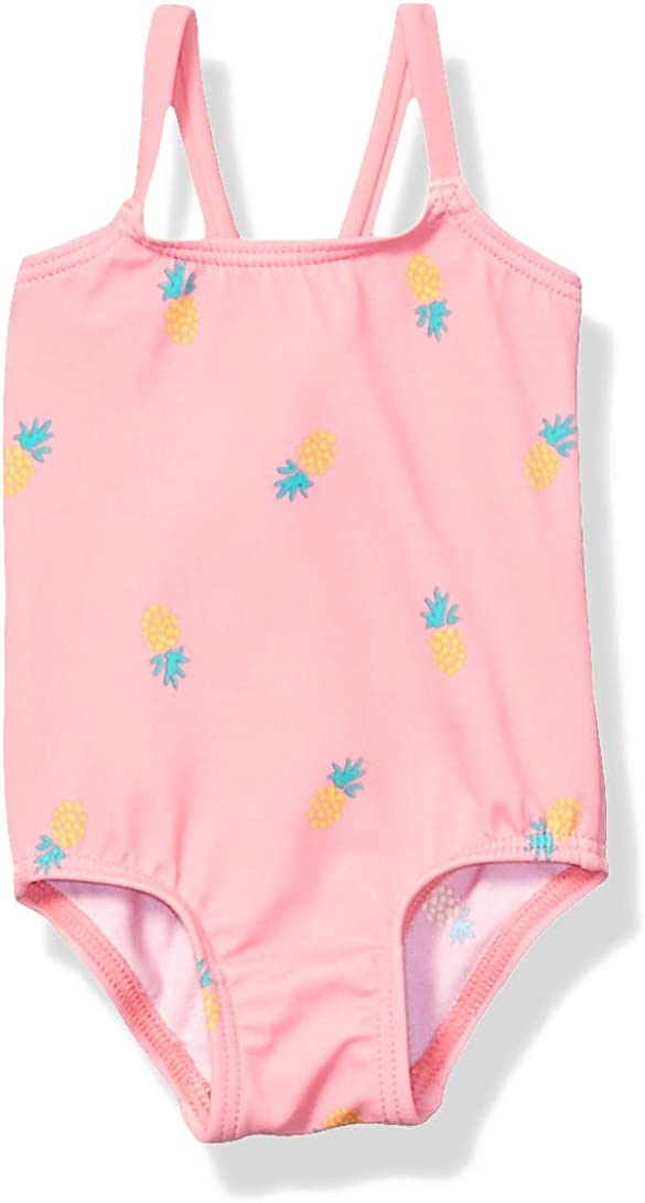 Essentials Girls' Infant One-Piece Swimsuits : Clothing, Shoes & Jewelry
