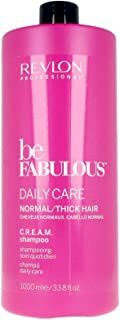 Revlon Be Fabulous Daily Care Normal Cream Shampoo 1000 ml