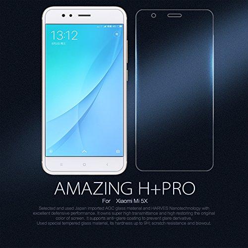 Xiaomi Mi 5X / Xiaomi MI A1 Pancerglas, Nillkin H+ Pro Schutzfolie [9H Härtegrad] Hohe Transparenz, Anti Kratzen [0,2 mm, 2.5D] Displayschutzfolie Ohne Bläschen
