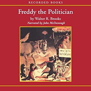 Freddy the Politician audiobook cover art