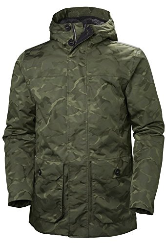 Helly-Hansen Men's Waterproof Killarney Parka Jacket, Beluga Camo, X-Large