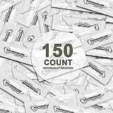 Dental Floss Picks Individually Wrapped, 150 Count, Floss Singles Bag, Travel Dental Floss, Unflavored Floss Picks,Dental Flossers,Floss Sticks,Tooth Floss,Dental Picks Disposable