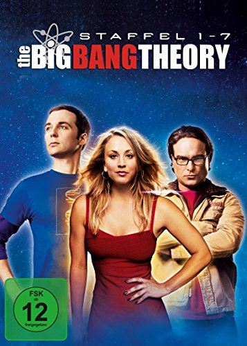 Cover The Big Bang Theory - Staffel 1 bis 7 (exklusiv bei Amazon.de) [Limited Edition] [22 DVDs]