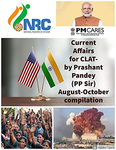 Current Affairs for CLAT by Prashant Pandey (Aug-Oct 202) (English Edition)