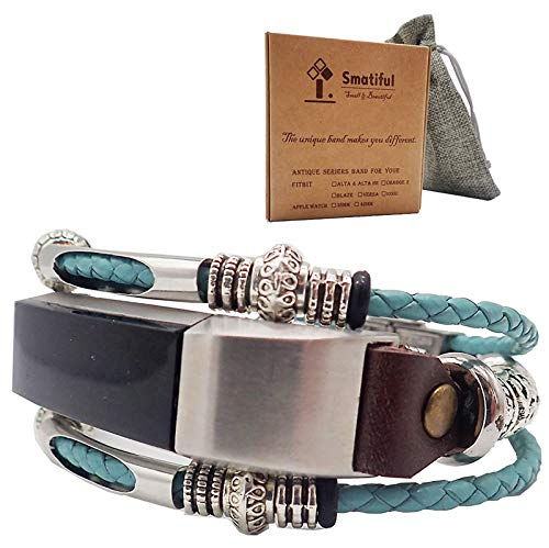 Smatiful Alta Cinturino with Box Pack, Adjustable Replacement Accessori Sport Armband per Fitbit Alta,Tiffany Verde