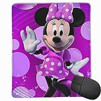 マウスパッドミニーマウス防水、洗える、耐久性、滑り止めオフィスラグジュアリーラグジュアリーラグジュアリーキュート25x30x0.3cm
