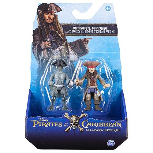 Bizak Piratas del Caribe - Pack 2 Figuras de Ghost Crew y Jack 61923101