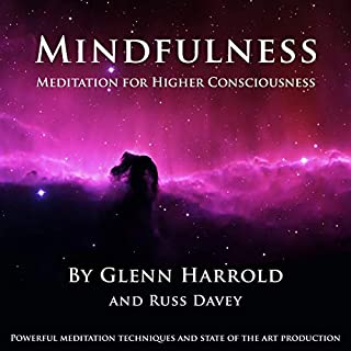 Mindfulness Meditation for Higher Consciousness audiobook cover art