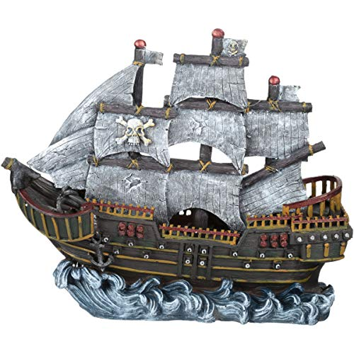 Penn Plax Pirate Wave Runner (Three Pack)