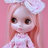 YUMMON 1/6 BJD Puppe ist der Neo Blythe ähnlich,4-farbige wechselnde Augen Shiny Gesicht und Puppen...