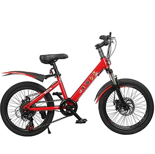 Tbagem-Yjr Children Mountain Road Bikes, 22 Inches Wheel Off-Road Bicycle Cycling for Best Gift (Color : Red, Size : 21 Speed)