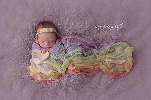 Rainbow Cheesecloth Wrap - Newborn Photography Props