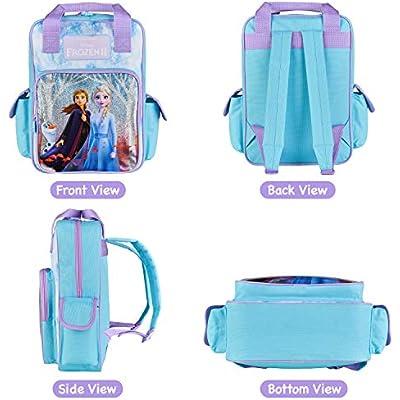 Rare Disney Frozen Elsa /& Anna Childrens Backpack Bag School Travel