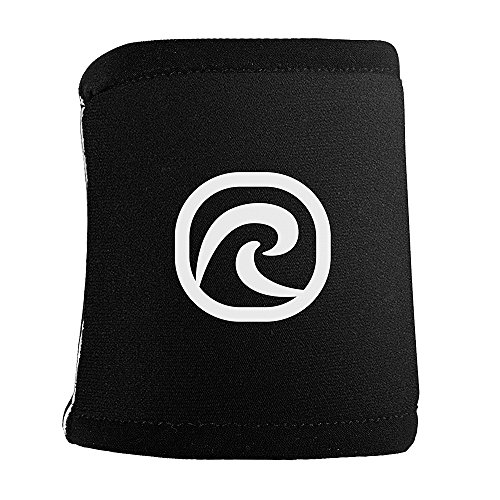 Rehband Rx Wrist Support - Small - Black - Wrist Sleeves for Crossfit Training, Team Sports + Weightlifting - Sports Compression Gear for Support & Recovery - 1 Pair