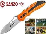GANZO G621 Poignée Ergonomique Resistance À La Cheleur Liner Lock Couteau De Poche Pliant Chasse Pêche Randonnée Folding...