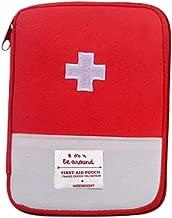 Fan-Ling New Medical Bag,Emergency Survival Drug Storage Kit,Outdoor Treatment Home Rescue,Creative Medicine Tablet Seal Organiser,Storage Holder Case for Medicine Drug Pill (L:18 x 13CM)