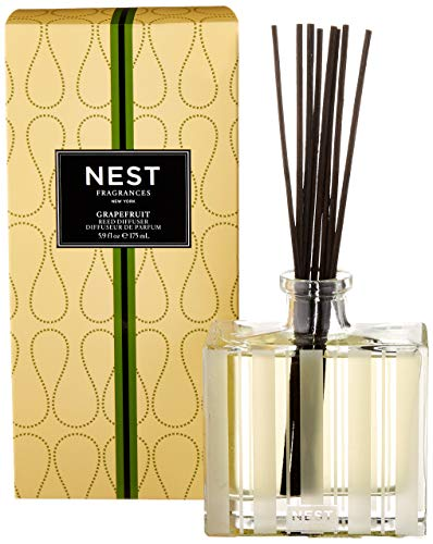 NEST Fragrances Reed Diffuser- Grapefruit , 5.9 fl oz