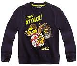 Angry Birds Langärmliges Sweatshirt Kinder Jungen Star Wars Marineblau 6bis 12Jahre, Blau