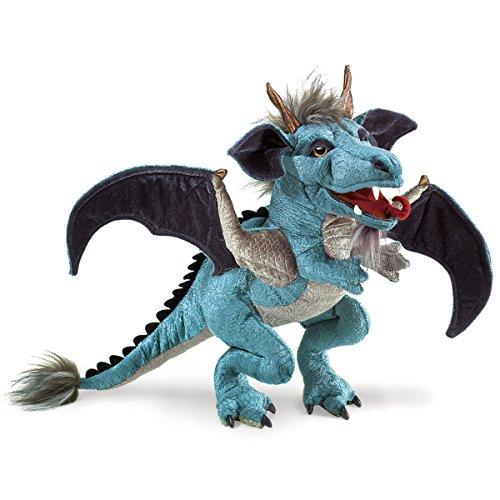 Folkmanis-Marionnette à Main-Dragon-Ciel