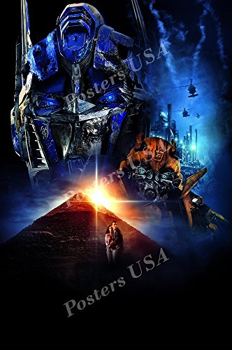 Posters USA - Transformers Revenge of the Fallen Optimus Prime Textless Movie Poster GLOSSY FINISH - MOV841 (24' x 36' (61cm x 91.5cm))