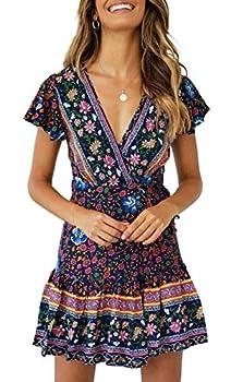 flowered dresses for women
