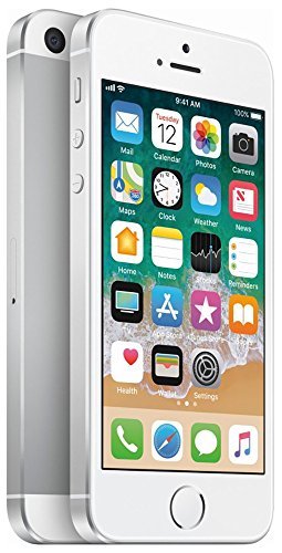Apple iPhone SE, 64GB, Silver - For AT&T / T-Mobile (Renewed)