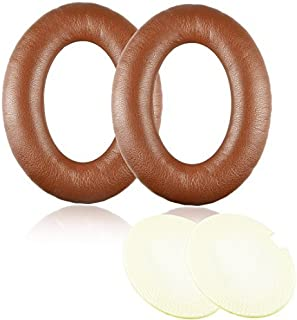 Synsen Coffee Brown Replacement Earpad Cushions for Bose Quietcomfort 2 QC2, Quietcomfort 15 QC15, Quietcomfort 25 QC25, QuietComfort 35 QC35, SoundTrue, AE2, AE2i , AE2w Headphone with ITIS Headphon [並行輸入品]