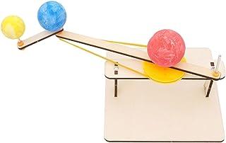 天体 おもちゃ ソーラーシステムモデル 三球儀 太陽 地球 月 動く太陽系模型 物理玩具 みんなで楽しめる 動く 太陽系模型 太陽と月 天文学 天体 宇宙 自由研究 実験