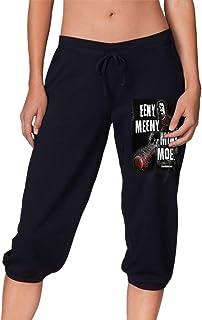 夏、春、秋、女の子7点丈パンツ Walking Dead Eeny Meeny Miny Moe レディース スポーツズボン、スポーツ、ランニング、ショッピング、ショッピング、学校、フィットネス運動