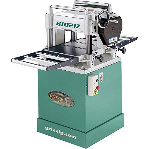 "Grizzly Industrial G1021Z - 15"" 3 HP Planer w/Cabinet Stand"