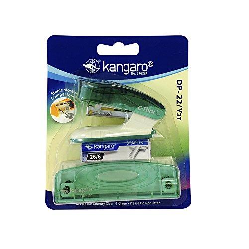 Kangaro DP 22 Y3 C THRU: Pack con grapadora