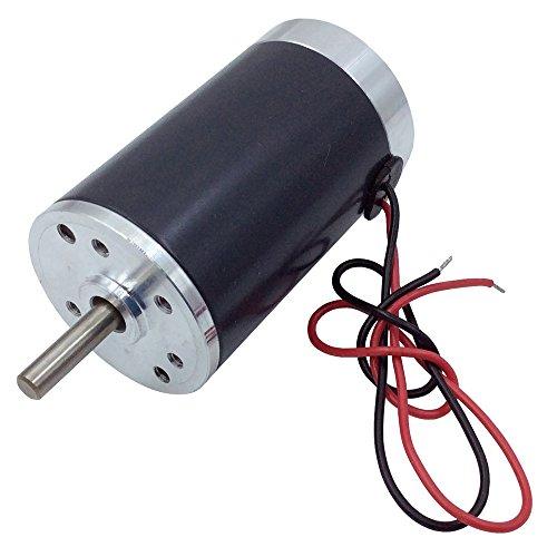 BEMONOC Small DC Motor 24 Volt High Speed 4000 RPM Optional Micro DC Brush Motor