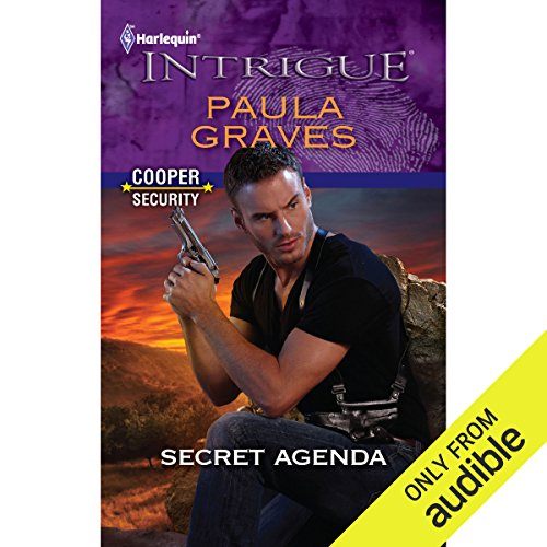 Secret Agenda audiobook cover art