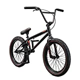 Mongoose Legion L60 Freestyle BMX Bike for Intermediate to Advanced Riders, Featuring Hi-Ten Steel Frame and Micro Drive 25x9T BMX Gearing with 20-Inch Wheels, Clay