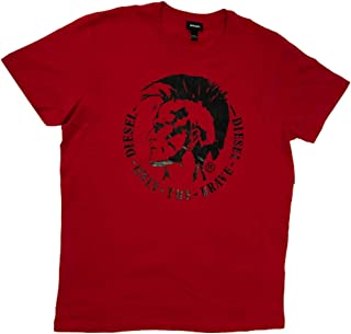T-Head-PS Only The Brave Men's T-Shirts Vibrant red X-Large